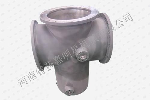 GIS壳体-筒体焊装(四通)